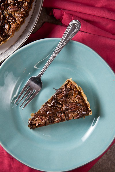Pecan-Bourbon Tart + Giving Thanks 1