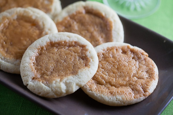 Orange Sugar Cookies with Burnt Caramel 1