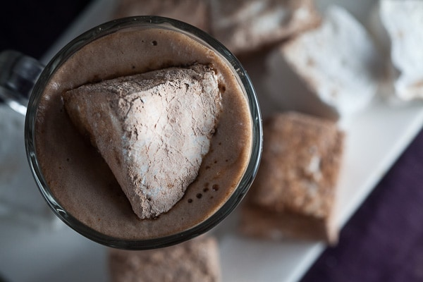 Hot Cocoa + Chocolate Hazelnut Marshmallows 6