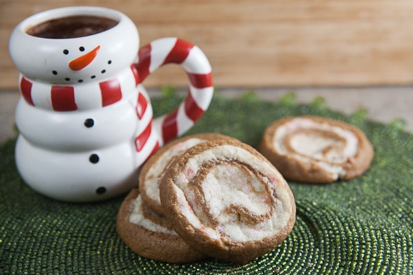 Gingerbread-Peppermint Pinwheels 3