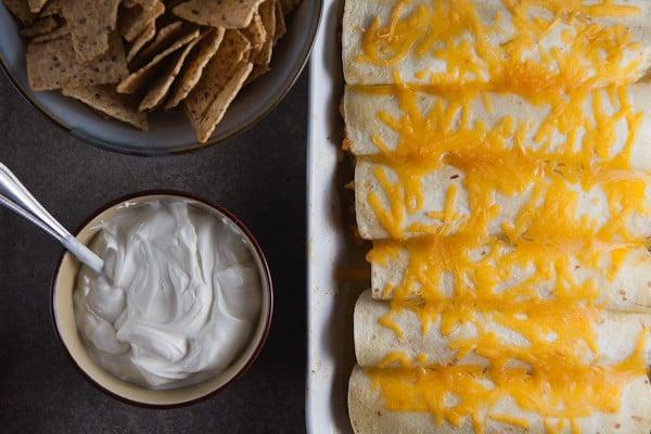 Sweet Potato Enchiladas from Healthy-Delicious.com #recipe