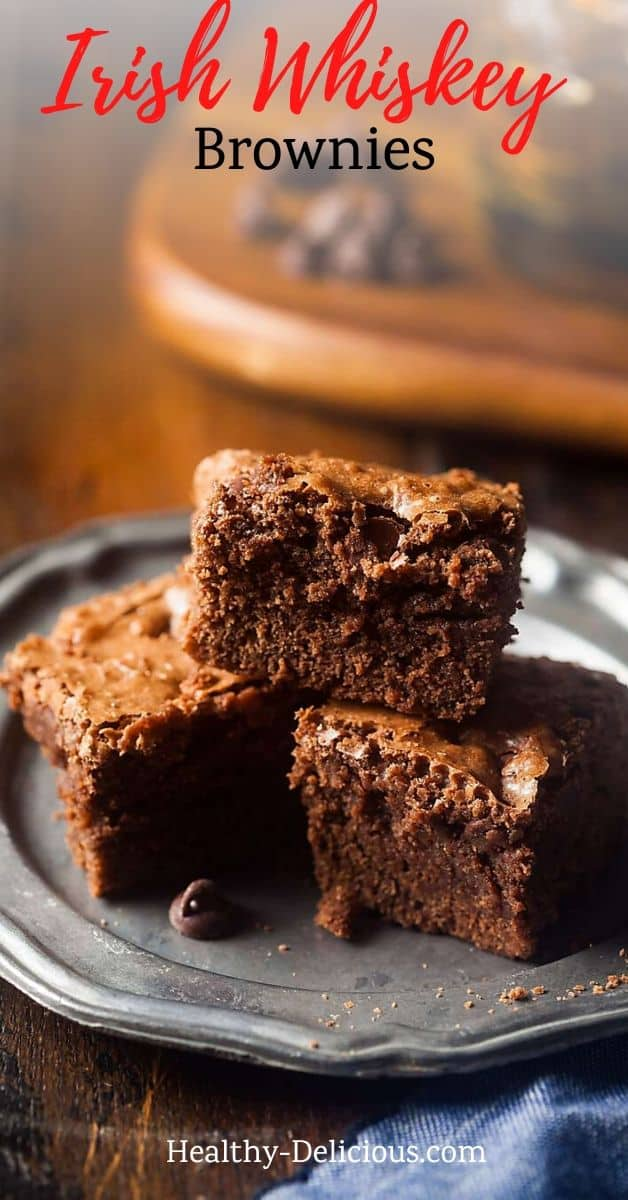 Fudgy homemade brownies made from scratch with cocoa powder and chocolate chips. You'll love this easy recipe! via @HealthyDelish