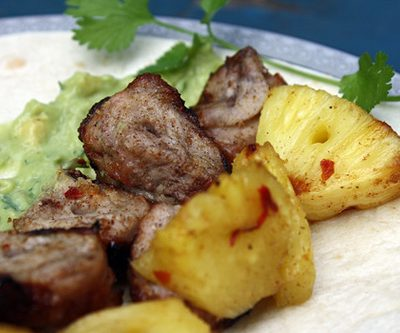 Grilled Pork and Pineapple Tacos