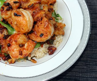 Meat-Free Friday: Kung Pao Shrimp