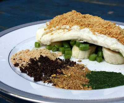 Daring Cooks: Cod with Traditional Flavors Powdered
