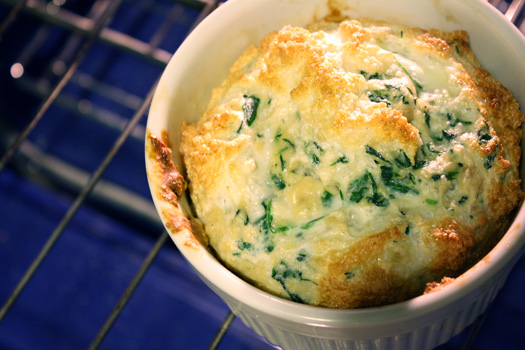 Spinach Souffle | Healthy. Delicious.
