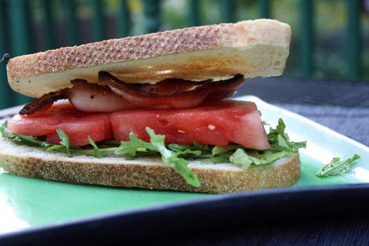 watermelon sandwich