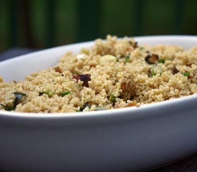 Meat-Free Friday: Moroccan Couscous with Pistachio and Apricot