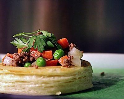 Daring Bakers: Cornish Pasty Vols-au-Vent