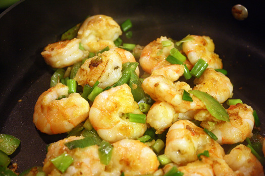 lightly battered shrimp
