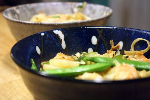 spicy noodle bowls