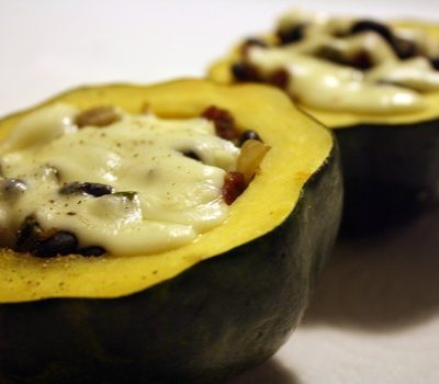 Southwest Stuffed Acorn Squash
