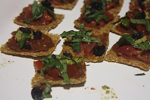 raw vegan flatbreads