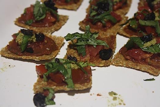 raw vegan flatbreads