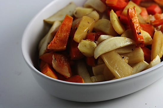 Maple-Glazed Root Vegetables | Healthy. Delicious.