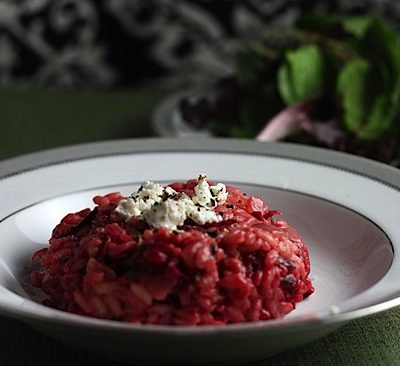 Daring Cooks: Beet Risotto