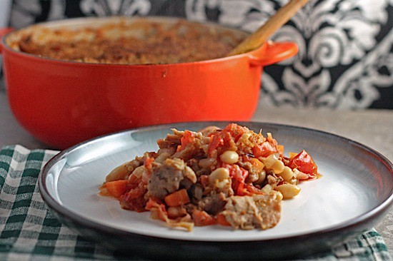 Cassoulet with White Beans, Sausage & Turkey | Healthy. Delicious.