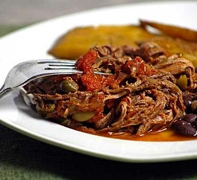 Ropa Vieja with Olives and Capers