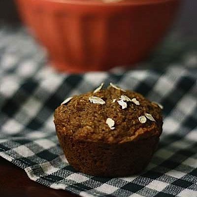 Oat Bran-Applesauce Muffins from Power Foods