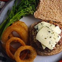 Beef and Zucchini Burgers 2
