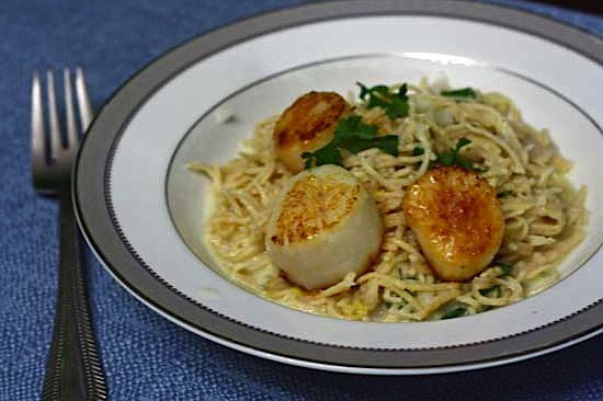 Lemon Pasta With Scallops Jpg