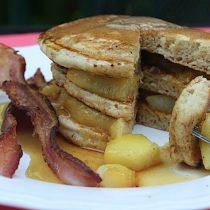 Peach Cobbler Pancakes 16