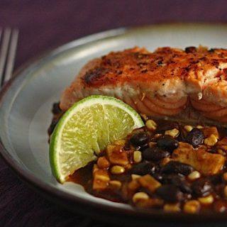 Salmon en Manchamanteles