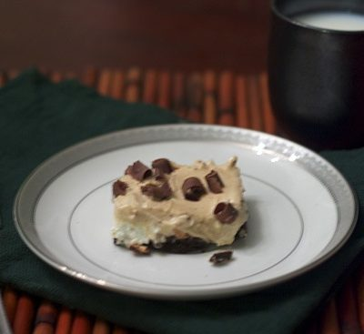 {For Jennie & Mikey} Chocolate Peanut Butter Pie