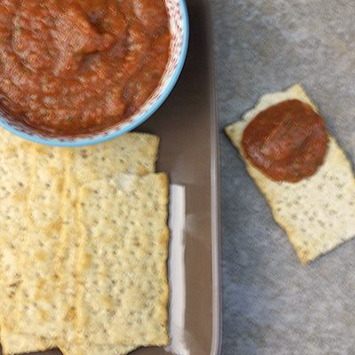 Roasted Eggplant & Red Pepper Dip