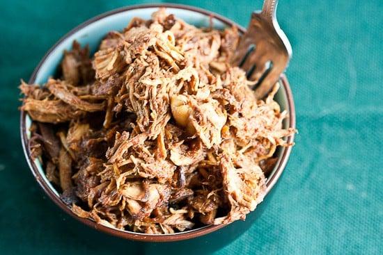 Honey-Bourbon Pulled Chicken 2