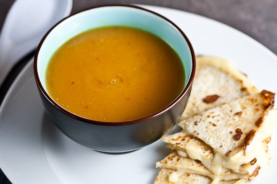 Creamy Sweet Potato and Chipotle Soup | Healthy. Delicious.