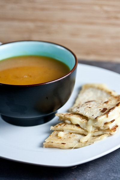Creamy Sweet Potato and Chipotle Soup - Healthy. Delicious.