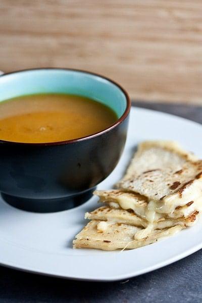 Creamy Sweet Potato and Chipotle Soup 1