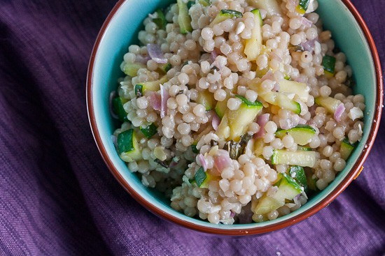 Warm Couscous Salad with Feta and Mint 1