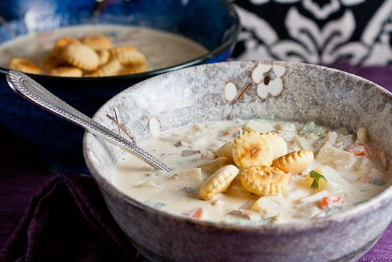 New England Clam Chowder 3