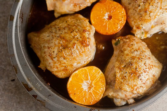 Clementine-Soy Chicken Thighs 1