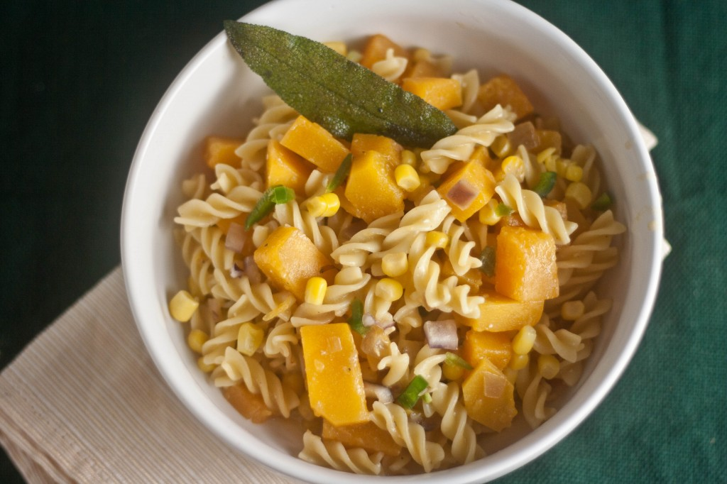 Fusilli with Butternut, Vanilla & Sage 2