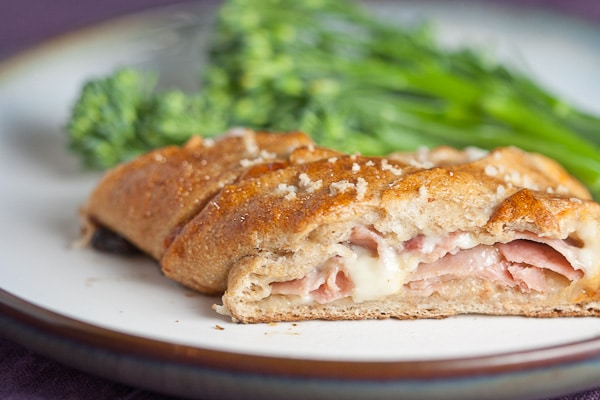 Ham and Cheese Stuffed Pretzel Pockets 1