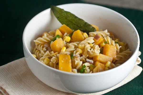 Fusilli with Butternut, Vanilla & Sage 1