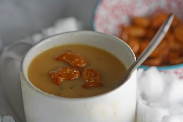 Cheddar & Ale Soup 3