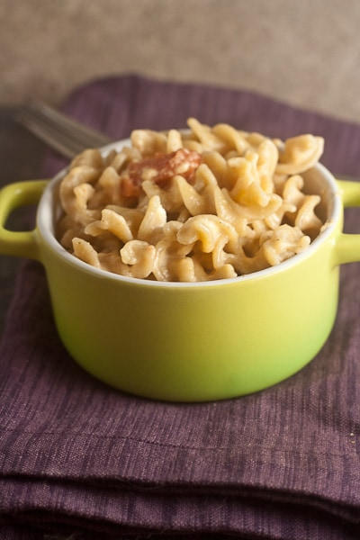 Stovetop Mac & Cheese with Stewed Tomato 3