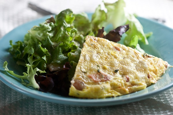 Smoked Salmon and Potato Frittata 2