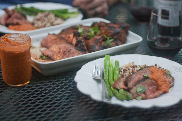 Moroccan Spiced Lamb with Fiery Chili Sauce 1