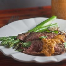 Moroccan Spiced Lamb with Fiery Chili Sauce 15