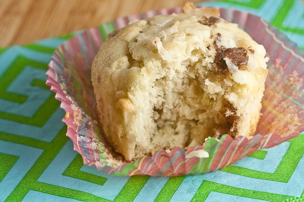 {SRC} Banana Toffee Coconut Muffins 3