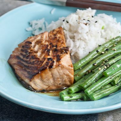 Two-Minute Salmon Terryaki