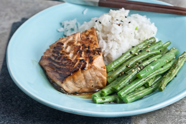 simple salmon terryaki