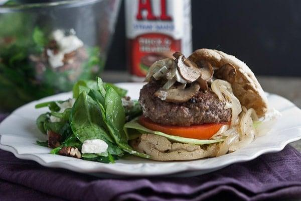 juicy pub style bison burger-2
