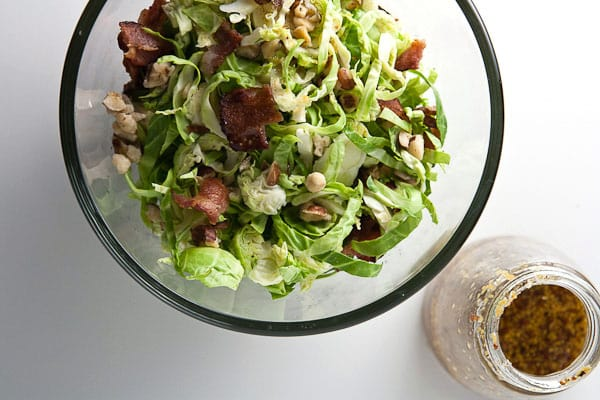 Brussels Sprout Salad with Maple Vinaigrette 3