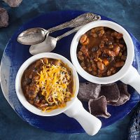 Slow Cooker Lentil and Pumpkin Chili